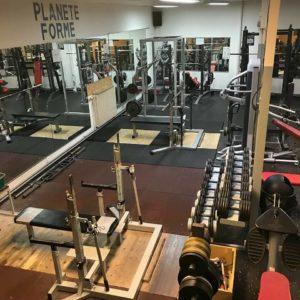 Club Planète Forme Amiens est un vrai club de musculation plateau de force