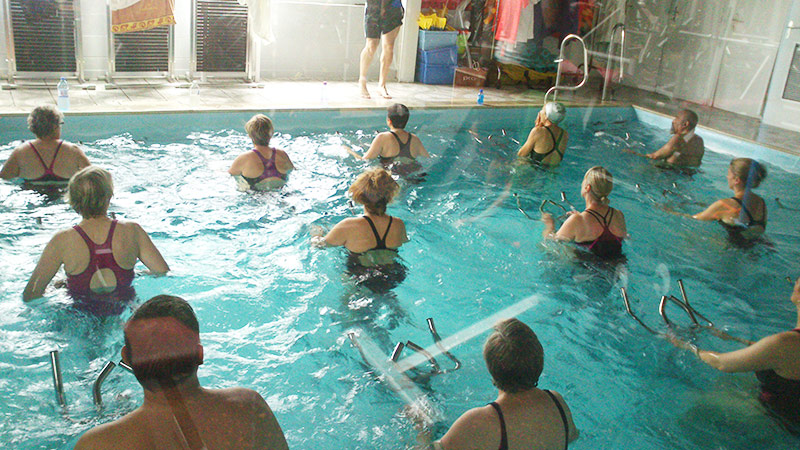 Dury salle fitness musculation cardio piscine aquabike et for Accessoire piscine amiens