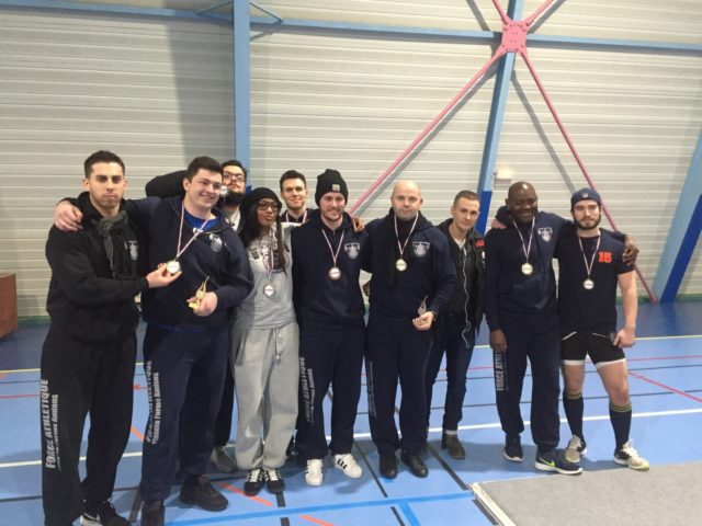 Force Athlétique l'équipe d'Amiens