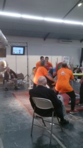 squat à 207,5kg à la finale des championnats de France