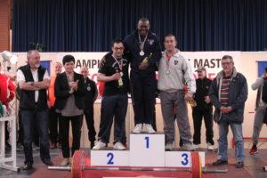 podium de la finale des championnats de France